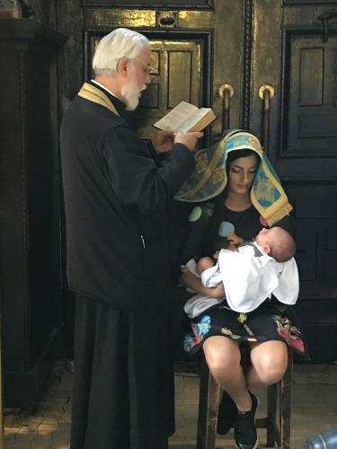 Barnedåb i katedralen