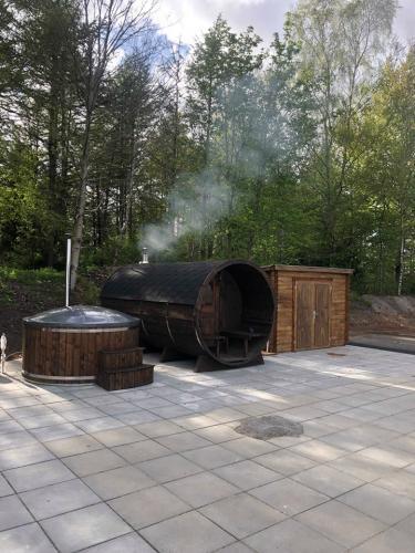 Vildmarksbad og sauna
