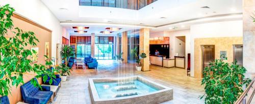 Hotel Slavey receptionen